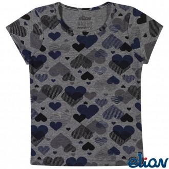 Imagem - (231406) Blusa Cotton Feminino Infantil Elian ref: 231406
