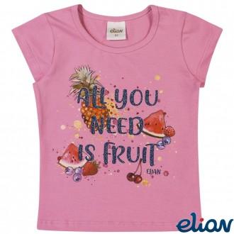Imagem - (231413) Blusa de Cotton Feminina Infantil Elian ref: 231413