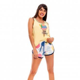 Imagem - (236) Short Doll  Bordado Adulto - Vily ref: 236