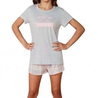 Imagem - (2368J) Pijama Feminino Juvenil Coleção Amor De Mãe - DANKA ref: 2368J