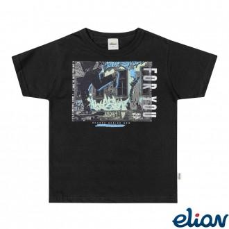 Imagem - (24999) Camiseta Meia Malha Infantil Masculino Elian ref: 24999