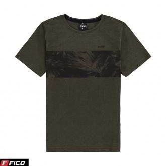 Imagem - (38429) Camiseta Meia Malha Masculina Infantil Lunender - Fico ref: 38429