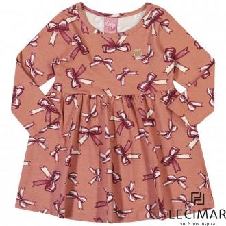 Imagem - (401475) Vestido Cotton Stretch Feminino Lecimar ref: 401475