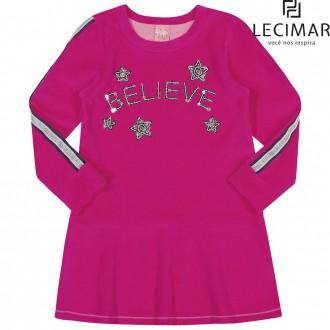 Imagem - (401540) Vestido Plush Feminino  Lecimar ref: 401540