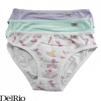 Imagem - (51309) Kit de calcinhas infantil ref: 51309