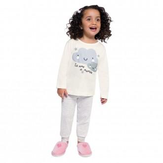 Imagem - (54025) Conjunto Pijama Unissex Malha Infantil Brandili ref: 54025