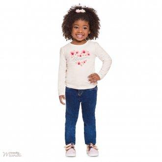 Imagem - (53616) Blusa Malha Feminino Infantil Brandili ref: 53616