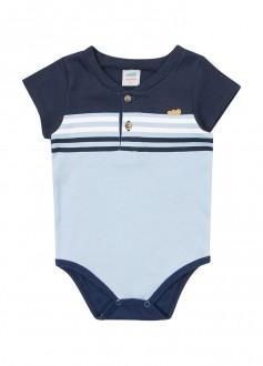 Imagem - (60436) Body Suedine Masculino Para Bebê - MARLAN ref: 60436