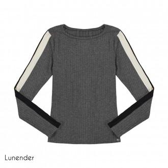 Imagem - (67622) Blusa Malha Canelada Lunender ref: 67622