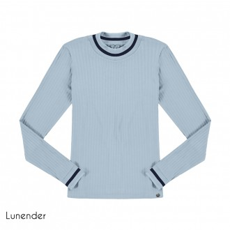 Imagem - (67629) Blusa Malha Canelada Lunender ref: 67629