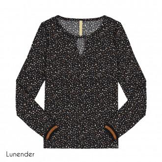 Imagem - (67644) Blusa de Malha Crepe Lunender ref: 67644