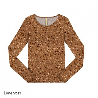 Imagem - (67663) Blusa de Malha Estampada Lunender ref: 67663