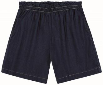 Imagem - (702190) Shorts Jeans Bengaline Feminino Adulto - Lecimar ref: 702190