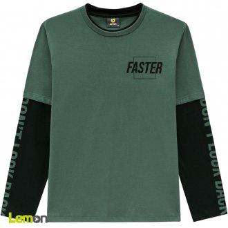 Imagem - (80.908) Camiseta manga longa meia malha LEMON ref: 80.908