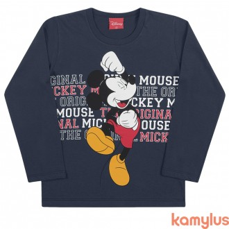 Imagem - (85107) Camiseta Masculino Malha Mickey Kamylus - 205340_SORTIDO-SORTIDO