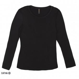 Imagem - (C60378) Blusa de viscose - CATIVA ref: C60378