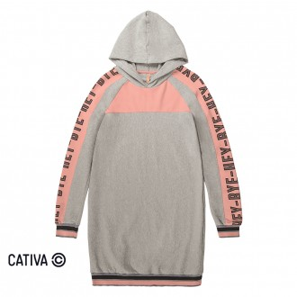 Imagem - (C80522) Vestido de molecotton - CATIVA ref: C80522