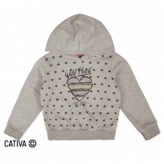 Imagem - (C90529) Conjunto de moletom com capuz - CATIVA ref: C90529
