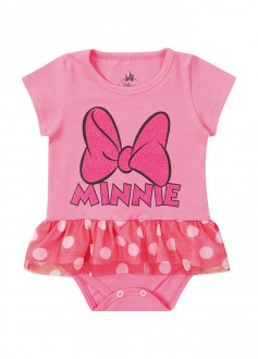 Imagem - (D4215) Body Feminino Minnie Para Bebê - MARLAN ref: D4215