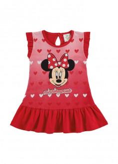Imagem - (D6160) Vestido Meia Malha Para Bebê Minnie - MARLAN ref: D6160