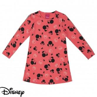 Imagem - (D80109) Vestido de Cotton Feminino Infantil Disney - Cativa ref: D80109