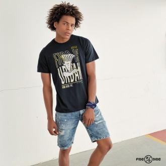 Imagem - (F30571) Camiseta Malha Masculino Adulto Fido Dido - Cativa ref: F30571