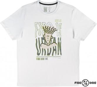 Imagem - (F30571) Camiseta Malha Masculino Adulto Fido Dido - Cativa - 584694_1001-BRANCO