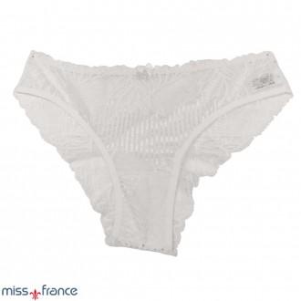 Imagem - (MF-6075) Calcinha Tanga Feminina Rendada Miss France ref: MF-6075