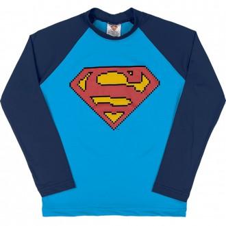 Imagem - (S4091) Camiseta Superman Tecnologia UV e DRY Masculino Infantil Marlan ref: S4091