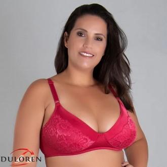Imagem - (111207) Sutiã S/ Bojo Rendado Duloren ref: 111207