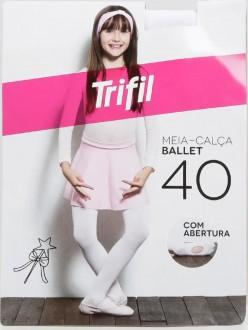 Imagem - (WO6990) Meia Calça Infantil Ballet - Trifil ref: WO6990