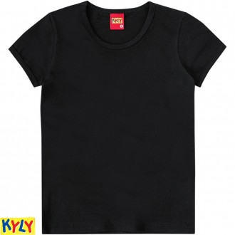 Imagem - (107.600-M) Camiseta Basica Cotton Feminino Juvenil - Kyly ref: 107.600-M