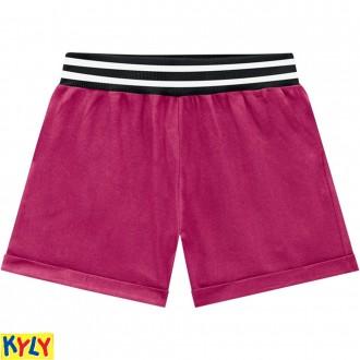Imagem - (108.485) Shorts Moletom Feminino Juvenil - Kyly ref: 108.485