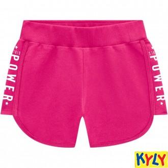 Imagem - (108.487) Shorts de Moletom Feminino Juvenil Kyly ref: 108.487