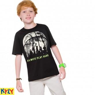 Imagem - (110.308) Camiseta Masculina Malha Juvenil-Kyly ref: 110.308