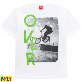 Imagem - (110.309 4/8) Camiseta Malha Masculina Infantil-Kyly ref: 110.309 4/8