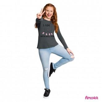 Imagem - (51.450) Blusa de Malha Feminina Juvenil Amora - Kyly ref: 51.450