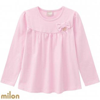 Imagem - (7399) Blusa cotton manga lonnga - MILON ref: 7399