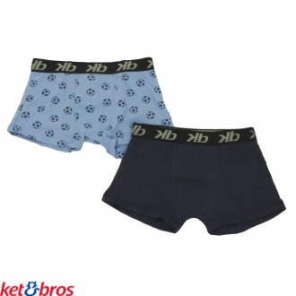 Imagem - (KB-246) Cueca Boxer Lisa Infantil  KIT 02 Ket Bros SORTIDO ref: KB-246