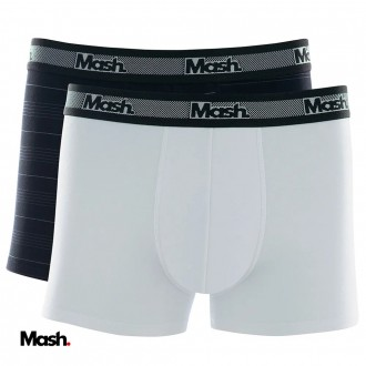 Imagem - (110.09) Kit C/02 Cuecas Boxer Mash - 579382_PT00-PT00 PRETO