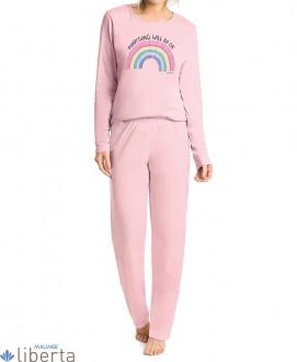 Imagem - (52282) Pijama Meia Malha de algodão Malwee Liberta ref: 52282