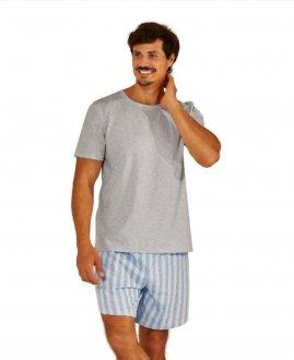Imagem - (ZR3300-026) Pijama Adulto Masculino de Malha - Zee Rucci ref: ZR3300-026