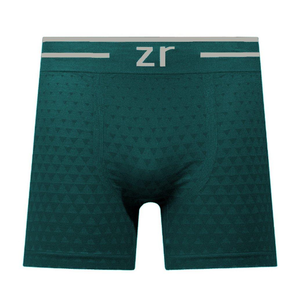 (ZR0100-013TRIANGULO) Cueca Boxer Plus Size Microfibra Sem