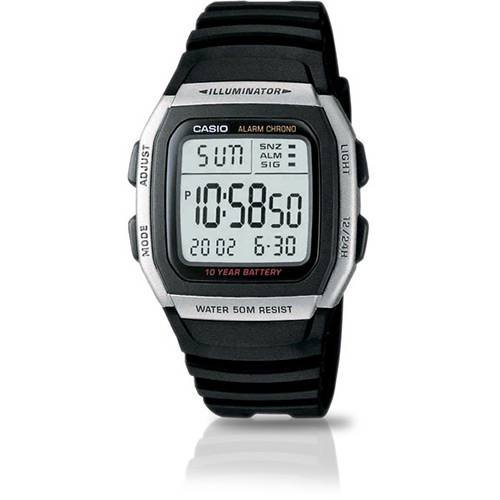 RELOGIO CASIO DIGITAL W-96H-1AVDF