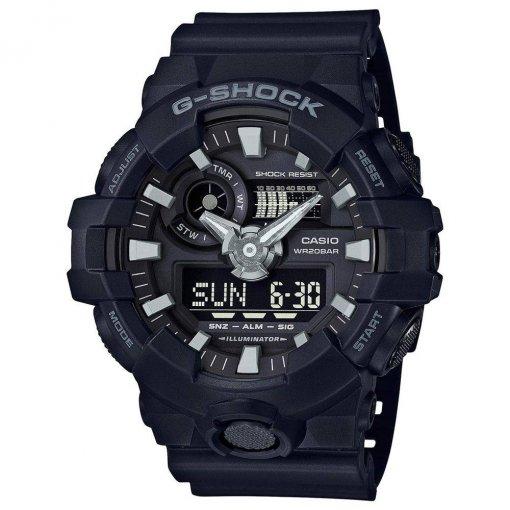 RELOGIO CASIO G-SHOCK ANADIGI GA-700-1BDR