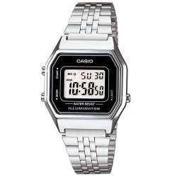RELOGIO CASIO VINTAGE DIGITAL LA680WA-1DF