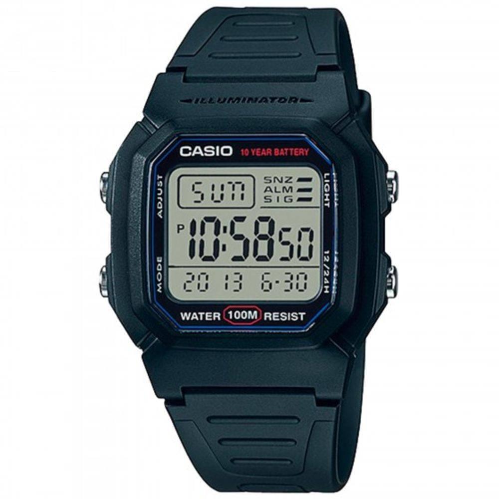 3e9560830e8 RELOGIO CASIO DIGITAL W-800H-1AVDF - Compre Agora