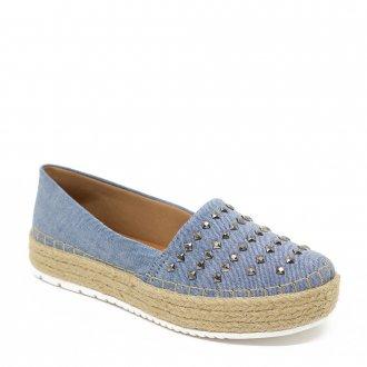 d0b5203a1e Imagem - Tênis Slip on Flatform Confort Show Fêminino Jeans cód  088701