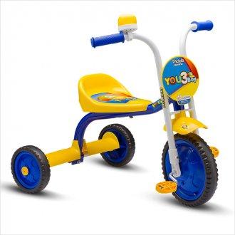 74792ef1ef Imagem - Triciclo You 3 Boy Nathor Amarelo cód  083277