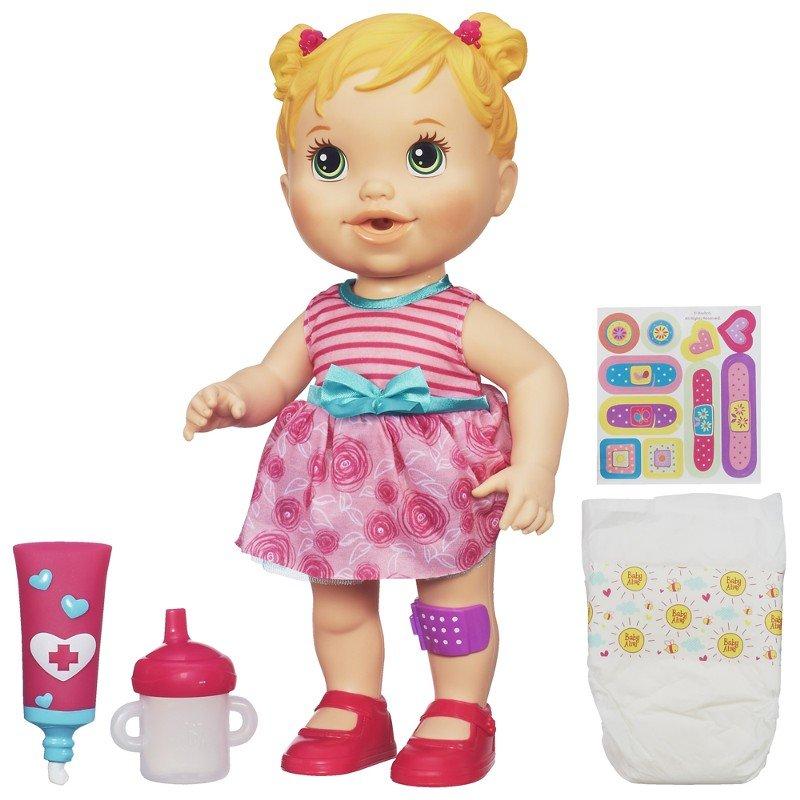 fae7d35982 Boneca Baby Alive Machucadinho Loira A5390 Hasbro - Zuazen